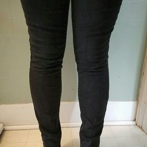 Mossimo mid-rise skinny jeans black sz12